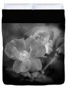 Knockout Roses Painted Bw Duvet Cover