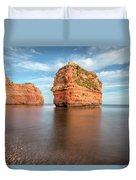 Ladram Bay - England Duvet Cover
