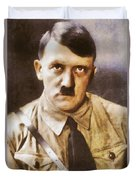 Leaders Of Wwii, Adolf Hitler Duvet Cover