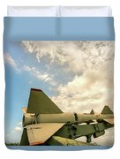Military Weapons, Ballistic, Anti-aircraft, Medium-range Missile 6 Duvet Cover