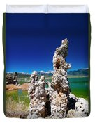 Mono Lake Tufa Duvet Cover