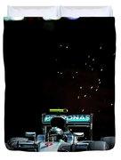 Nico Rosberg Duvet Cover