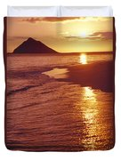 Oahu, Lanikai Beach Duvet Cover