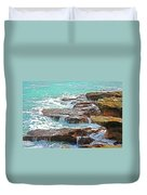 5- Ocean Reef Shoreline Duvet Cover