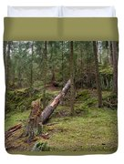 Old Forest In Kauppi Tampere Duvet Cover