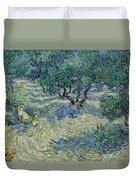 Olive Orchard Duvet Cover