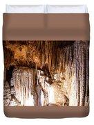 Onondaga Cave Formations Duvet Cover