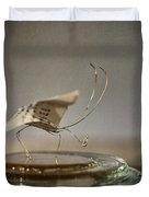 Paper Butterfly Duvet Cover