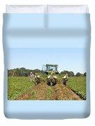 Peanut Harvest Duvet Cover