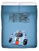 Porsche 917 Duvet Cover