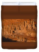 Red Cliffs  Duvet Cover