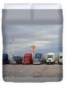 Route 66 - Dixie Truckers Home Duvet Cover