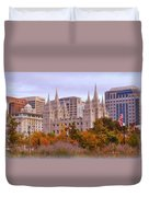 Salt Lake City Lds Temple Duvet Cover