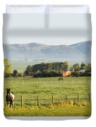 Scottish Scenery Duvet Cover