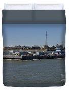 Shipping - New Orleans Louisiana Duvet Cover