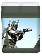 Star Wars On Poster Duvet Cover