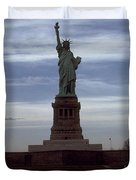 Statue Of Liberty Photograph Duvet Cover