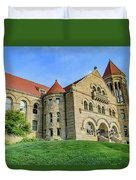 Stewart Hall At West Virginia University Duvet Cover