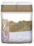 Sun Sand Surf Ondine Magazine Ireland Duvet Cover