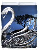 Swan Art. Duvet Cover