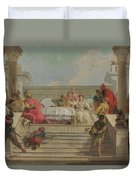 The Banquet Of Cleopatra Duvet Cover