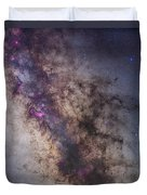 The Center Of The Milky Way Duvet Cover