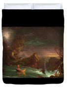 The Voyage Of Life, Manhood Duvet Cover