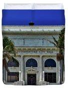 Ventura City Hall Duvet Cover