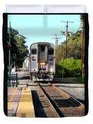 Ventura Train Station Duvet Cover