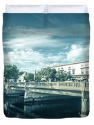 Westerly Is A Town On The Southwestern Shoreline Of Washington C Duvet Cover