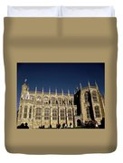 Windsor Castle England United Kingdom Uk Duvet Cover