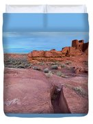 Wupatki National Monument Duvet Cover