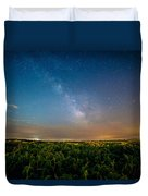 50 Miles From Chicago On A Summer Night Duvet Cover