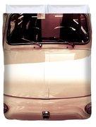 500 Fiat Toned Sepia Duvet Cover by Stefano Senise