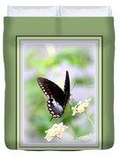 5276-001- Butterfly - Swallowtail Duvet Cover