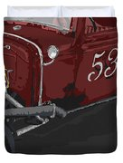 '53 Rat Rod Duvet Cover