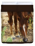 Wild Mustangs Duvet Cover