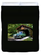 54 Chevy Duvet Cover