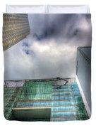 Canary Wharf London Duvet Cover