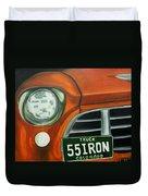 55 Iron Duvet Cover