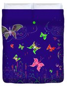 558   Butterflies  V Duvet Cover