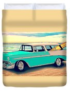 56 Nomad By The Sea In The Morning With Vivachas Duvet Cover