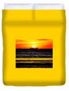 Sunset Bay Beach Duvet Cover