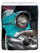 57 Chevy Duvet Cover