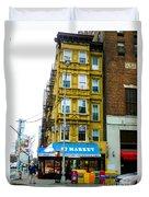57 Market New York City Duvet Cover