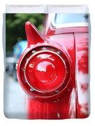 '57 Tail Light Duvet Cover