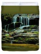 North Carolina Fall Colors Duvet Cover