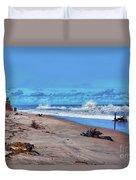 58- Sapphire Surf Duvet Cover