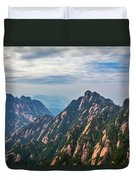 5862 Yellow Mountains Duvet Cover