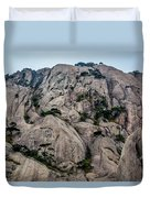 5875- Yellow Mountains Duvet Cover